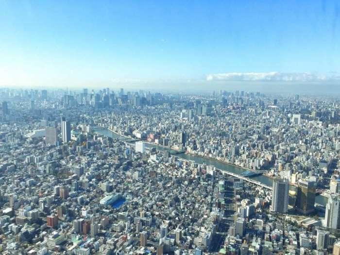 Blick vom Skytree auf die Metropole