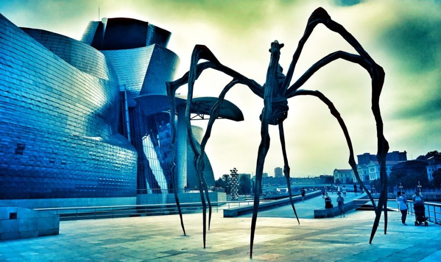 Spinne Maman in Bilbao