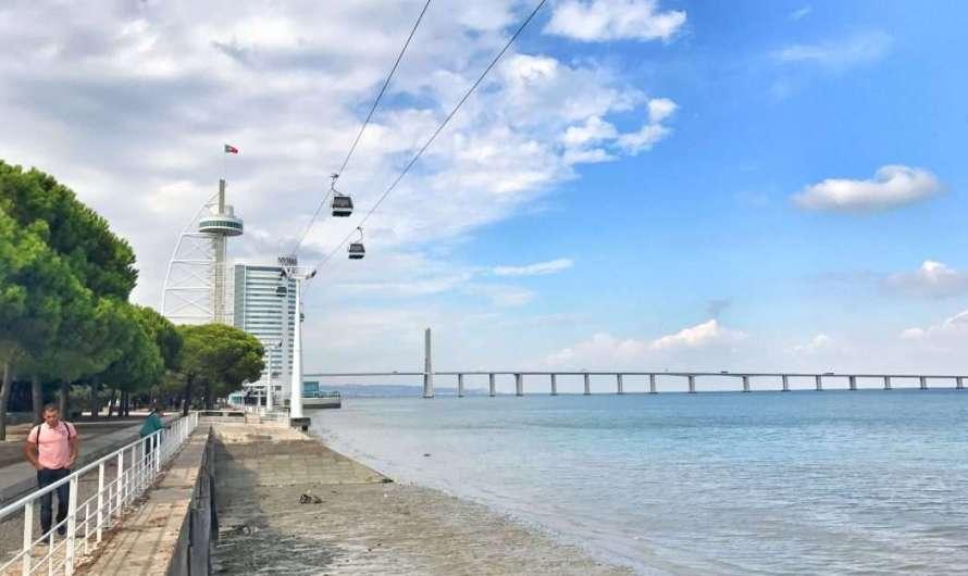 Das Expo-Gelände in Lissabon