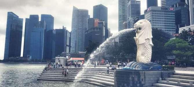 Singapurs Wahrzeichen: Der Merlion