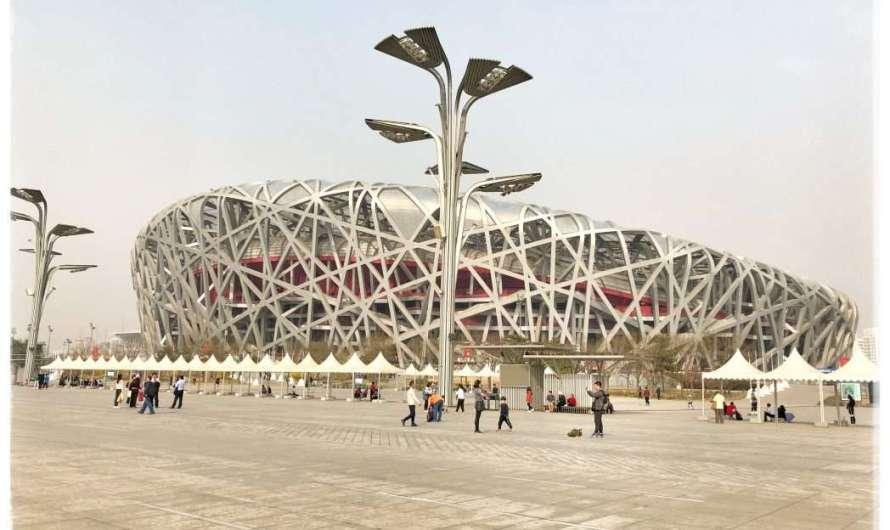 Der Olympiapark in Peking