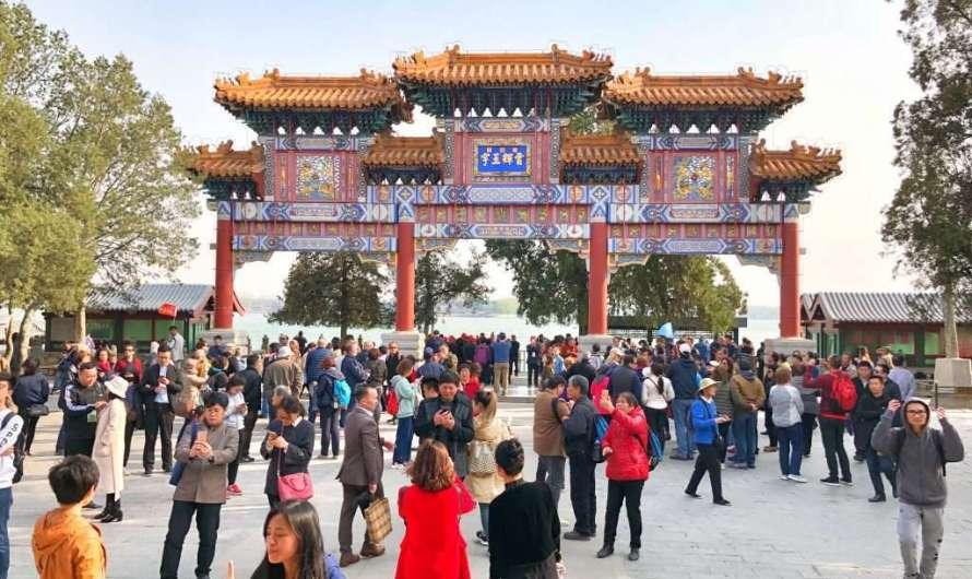 Der Sommerpalast des Kaisers in Peking