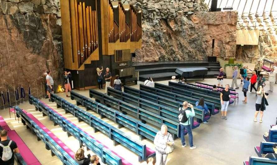 Die Felsenkirche in Helsinki