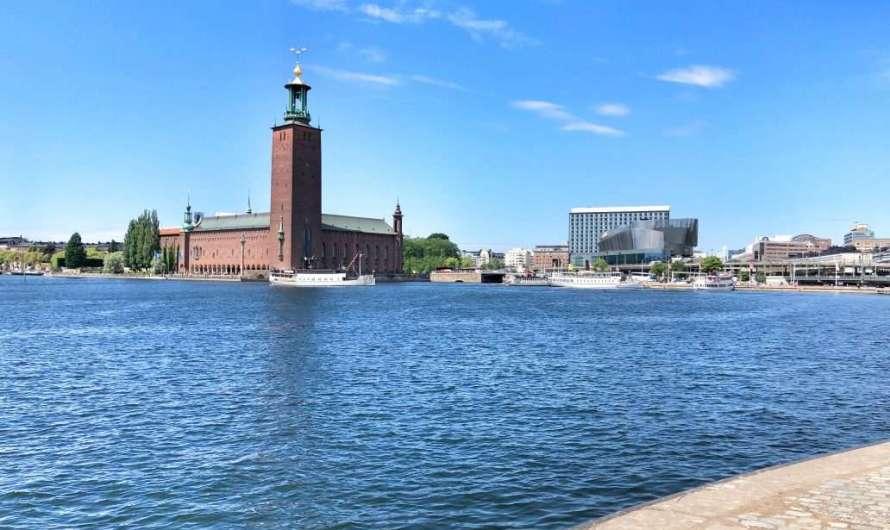 Rathaus-Turm – Blick über Stockholm