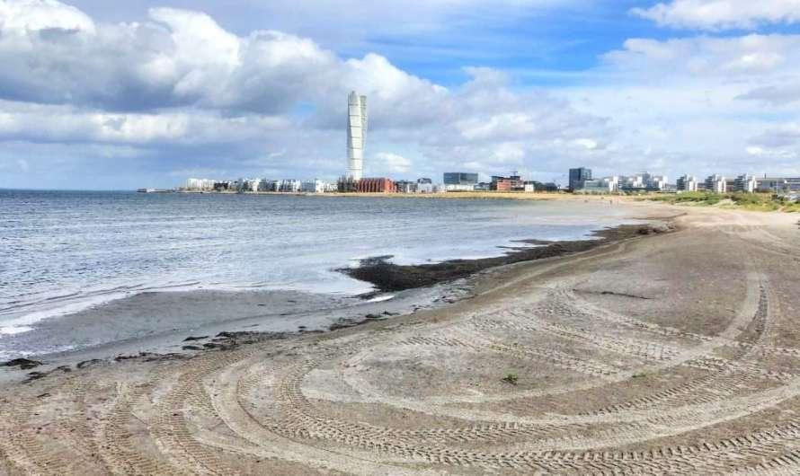 Der Strand in Malmö