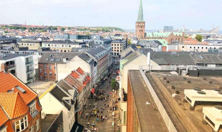 Kaufhaus mit Aussichtsplattform in Aarhus
