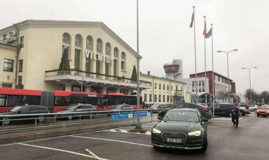 Vom Flughafen Vilnius in die Stadt