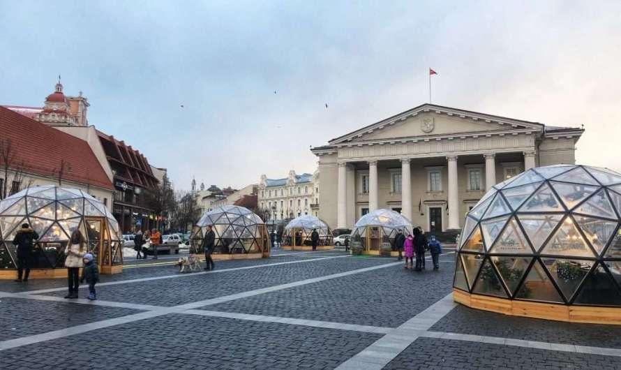 Das alte Rathaus in Vilnius