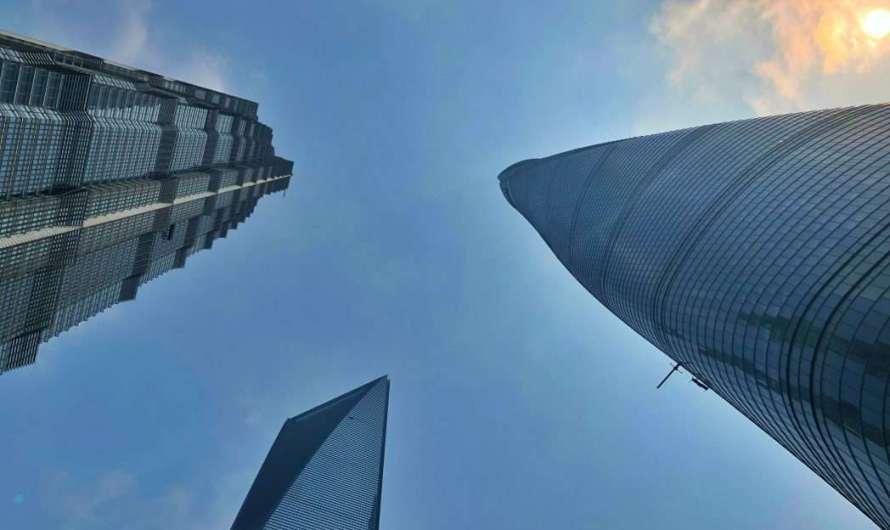 Der Jin Mao Tower in Shanghai