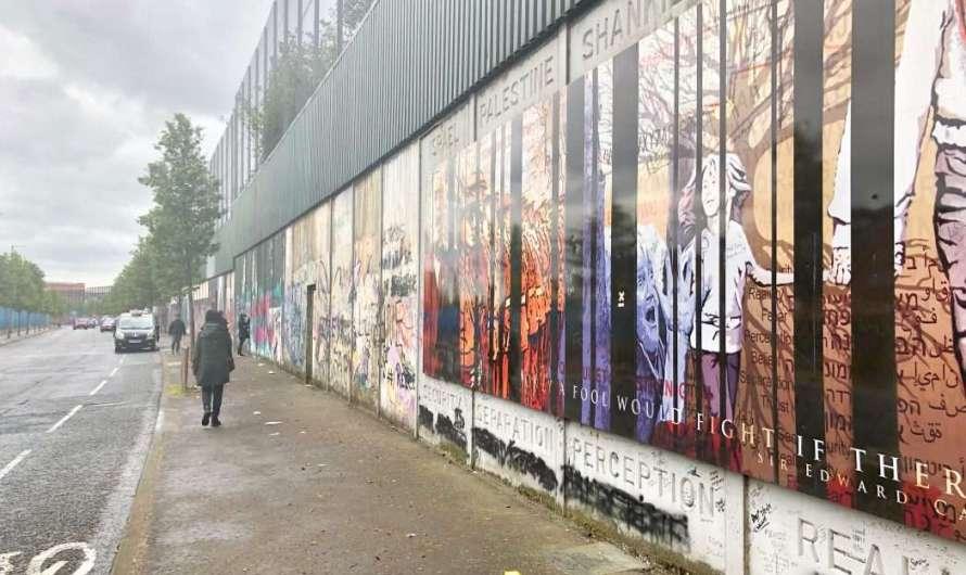 Die Mauer in Belfast
