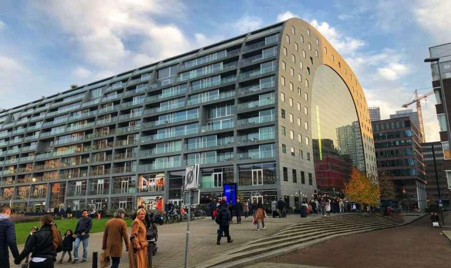 Die spektakuläre Markthalle in Rotterdam
