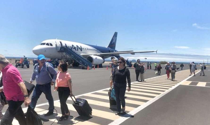 Anreise auf die Galapagos – die Insel Baltra