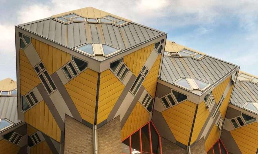 Die Kubus-Häuser in Rotterdam