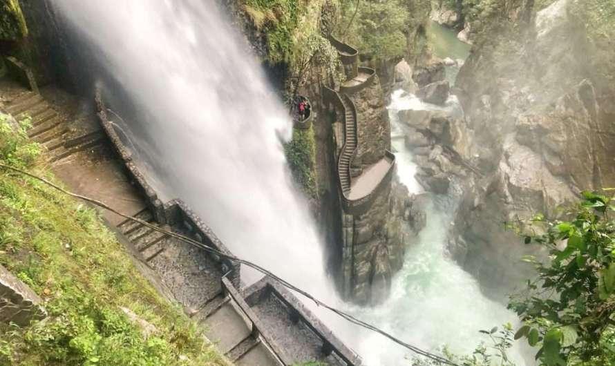 Die Wasserfall-Route in Baños