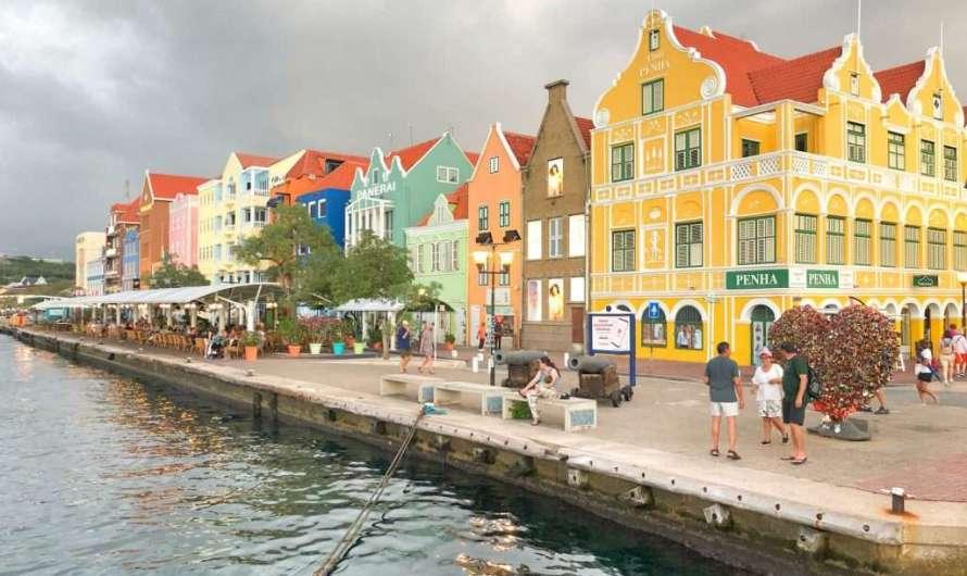 Die bunten Häuser auf Curaçao