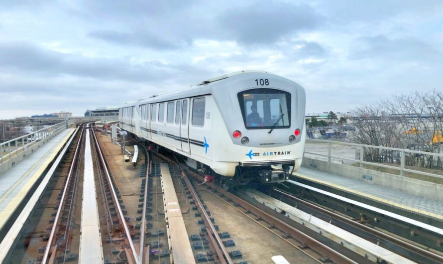 Mit dem Airtrain nach New York City