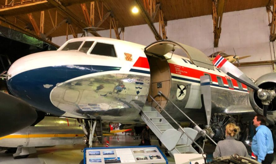 Das Flugzeug-Museum in Sola
