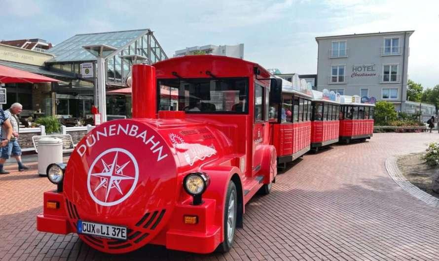 Mit Strandbahn und Dünenbahn durch Cuxhaven