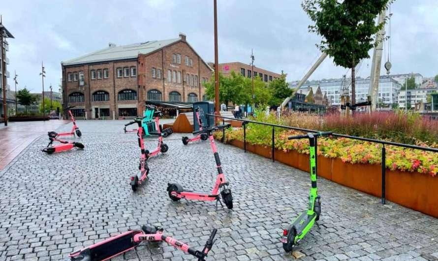 E-Roller-Boom in Norwegen