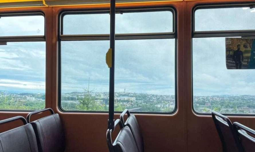Mit der Tram durch Trondheim