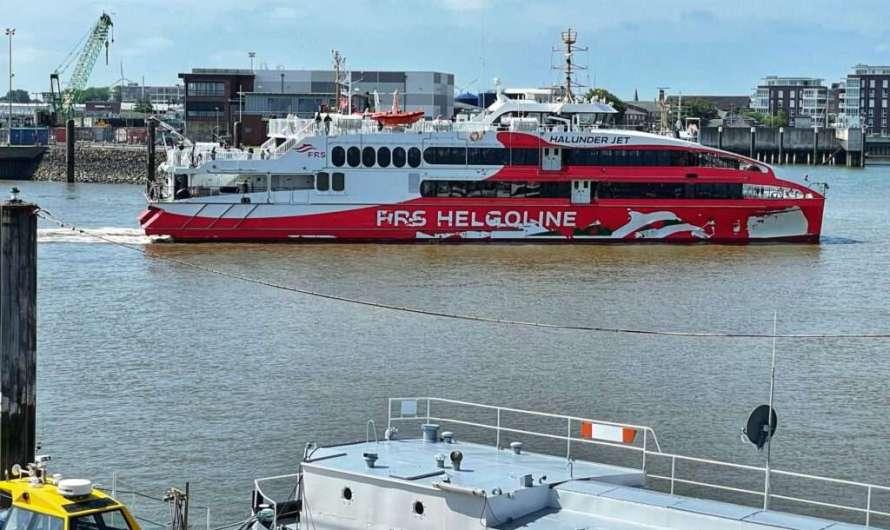 Mit dem Schiff von Hamburg nach Helgoland