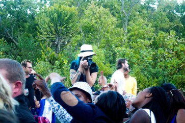 Crowd at Kirstenbosch