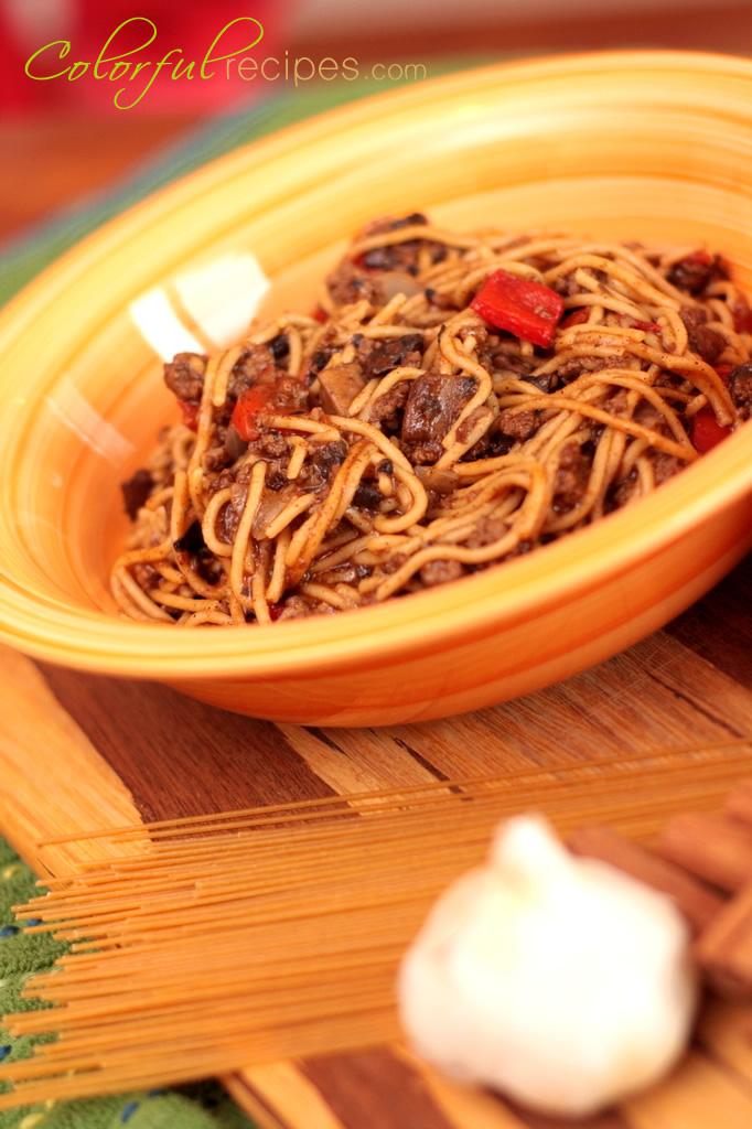 Mom's Comfort Spaghetti