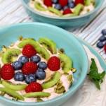 Banana Yogurt Fruit Breakfast Bowl