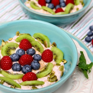 Banana Yogurt Fruit Breakfast Bowl
