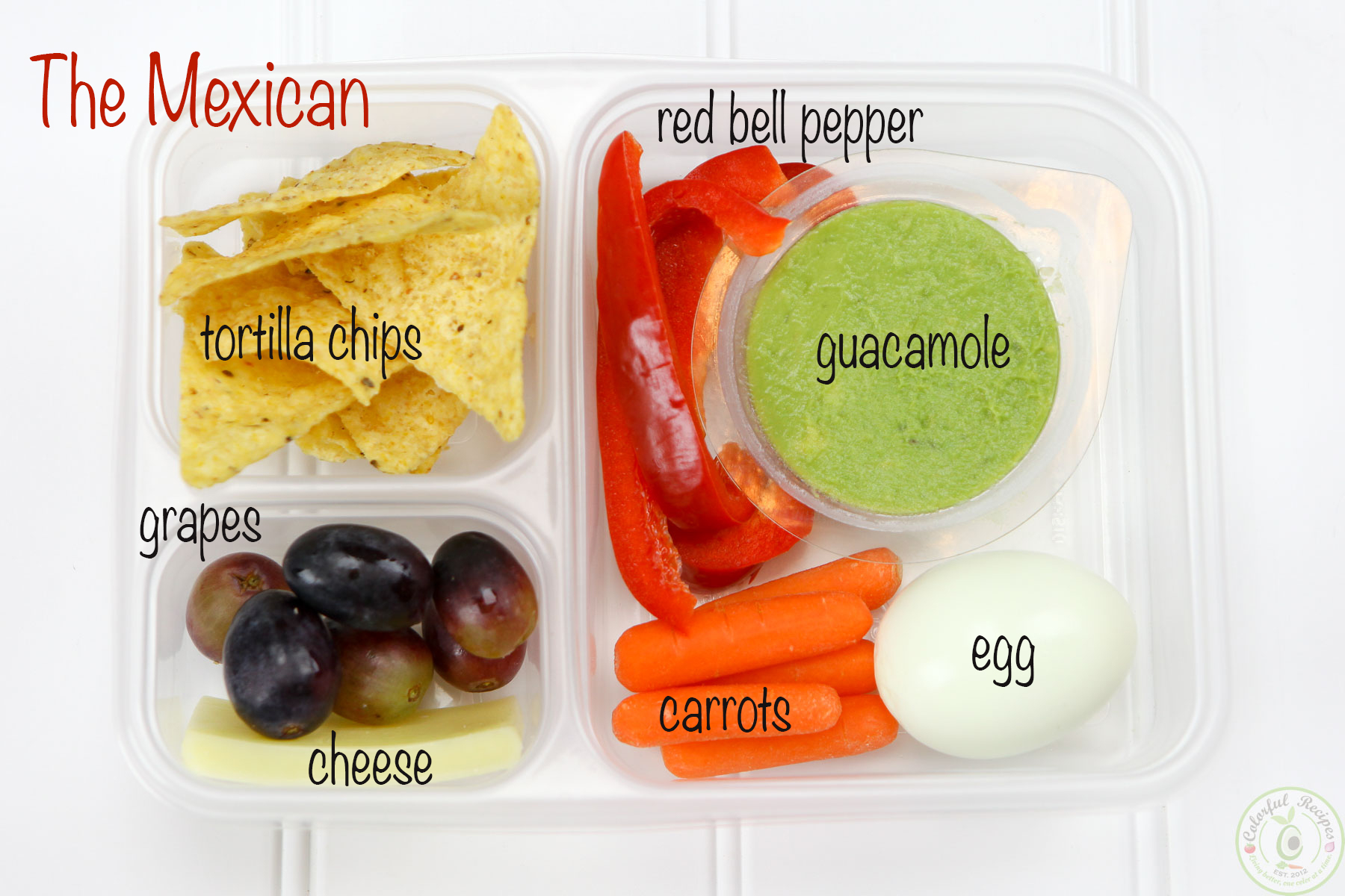 The Mexican Protein Bento Snack Box Idea