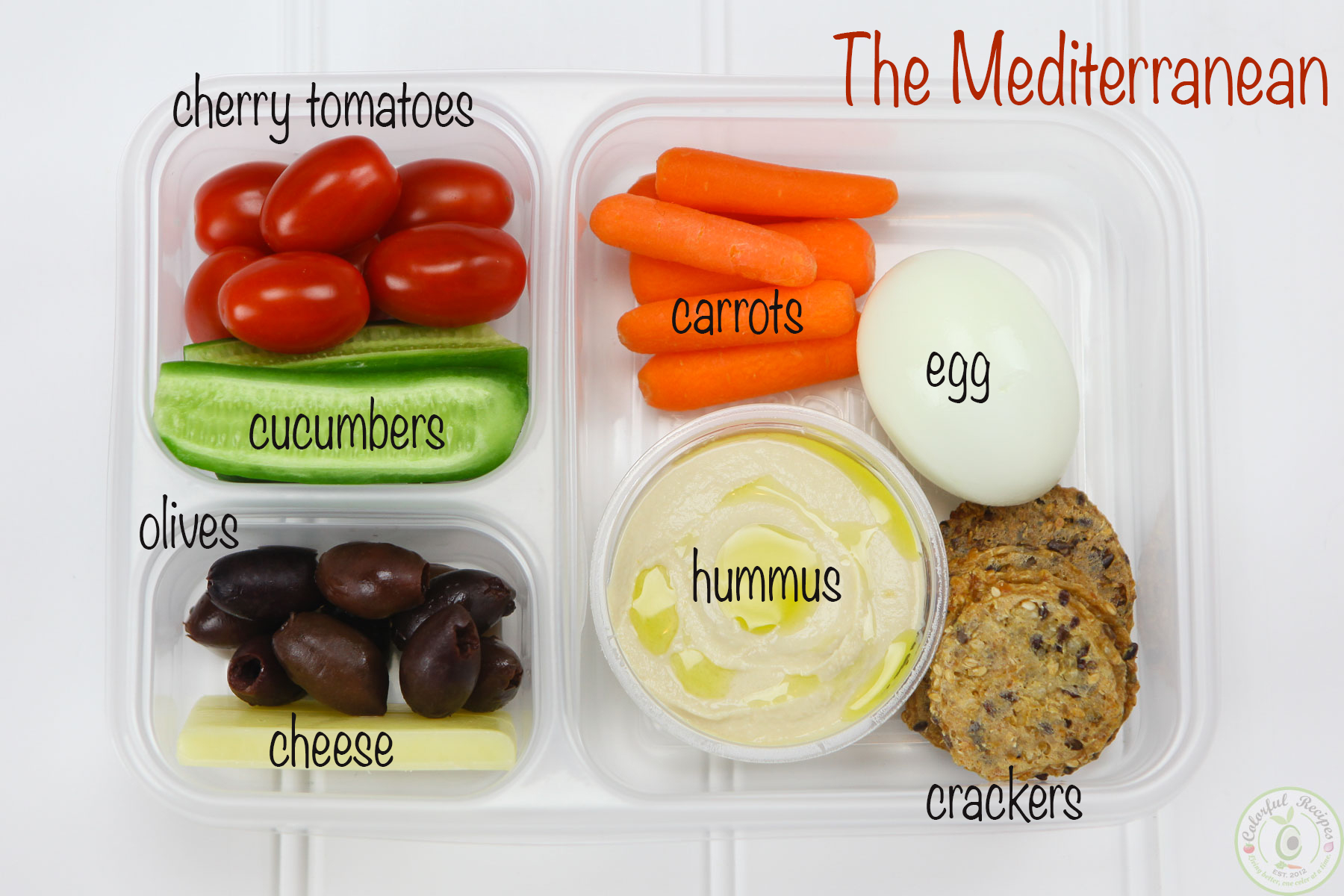 The Mediterranean Protein Bento Box Idea