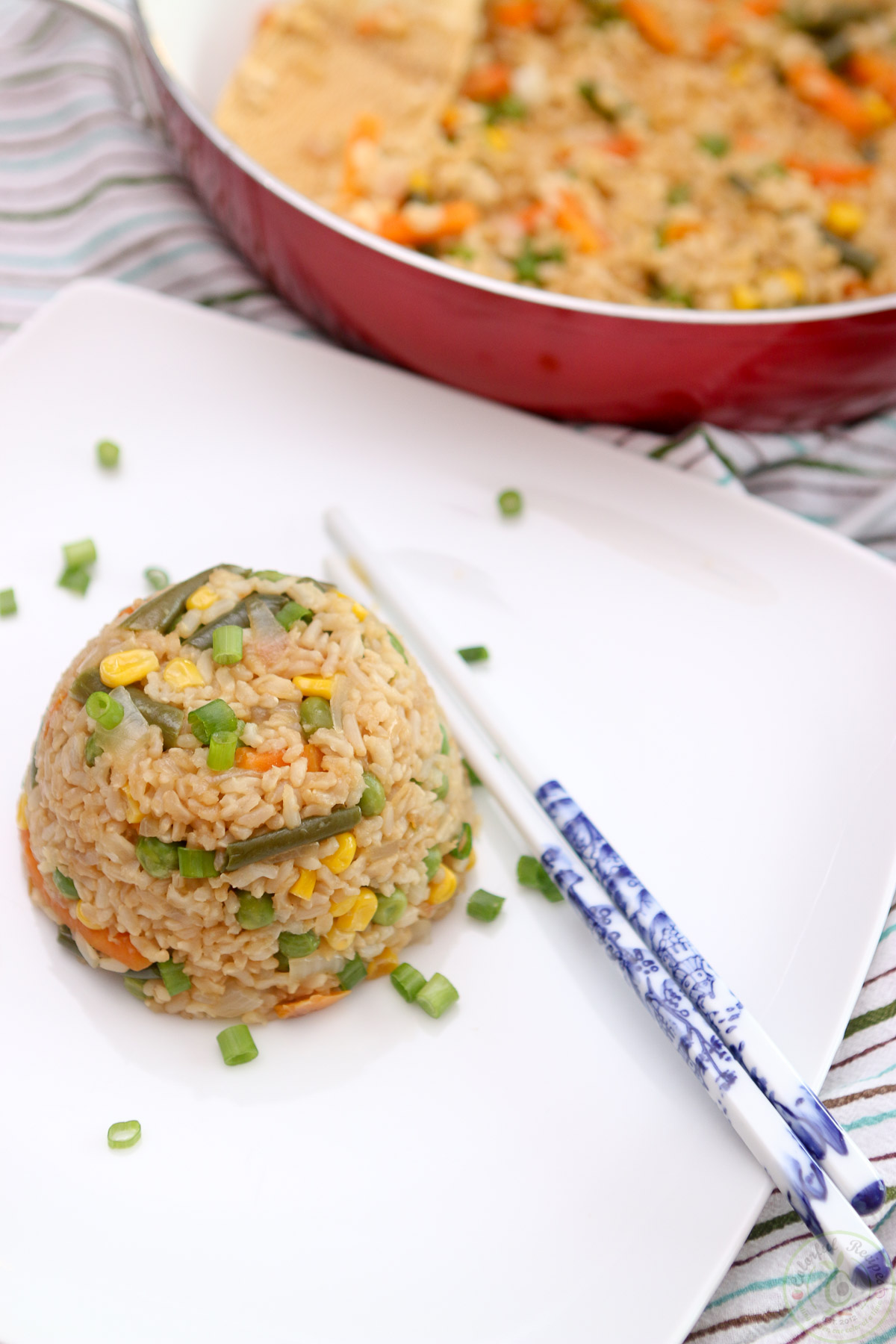 Easy 15 minute vegan fried rice colorful recipes easy 15 minute vegan fried rice ccuart Choice Image