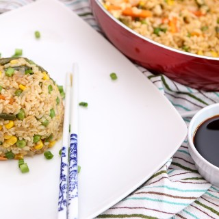 Easy 15 Minute Vegan Fried Rice