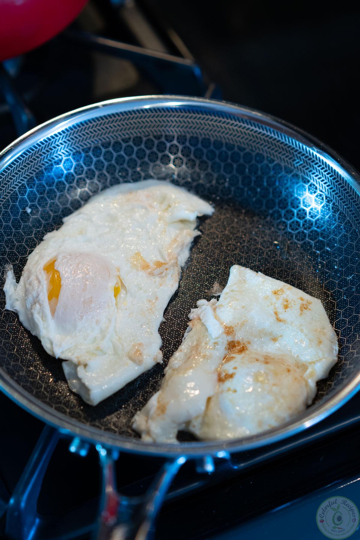 egg over medium