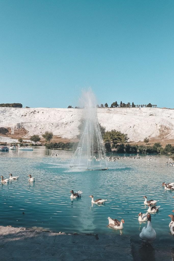 Pamukkale travertines Hierapolis Turkey