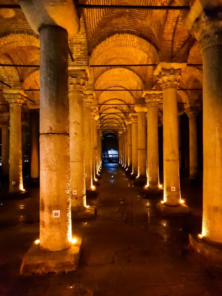 Basilica Cisterns, Istanbul Turkey
