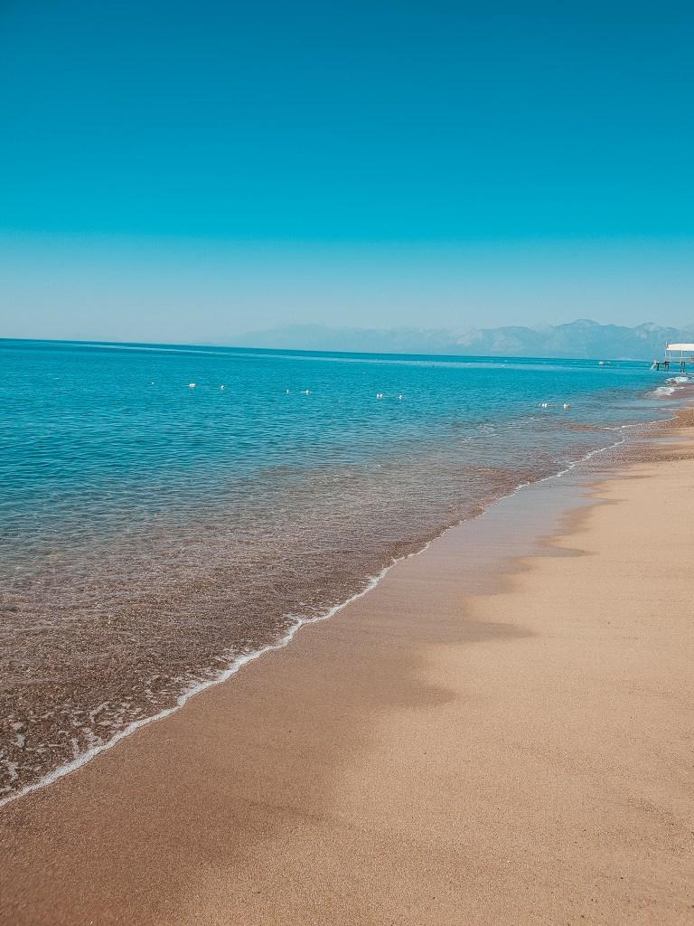 Lara Sand Beach Antalya Turkey