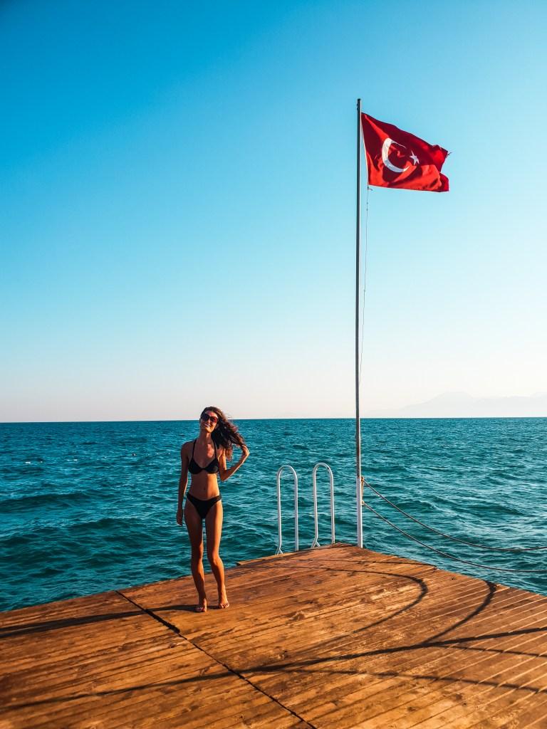 Lara Beach Antalya Turkey