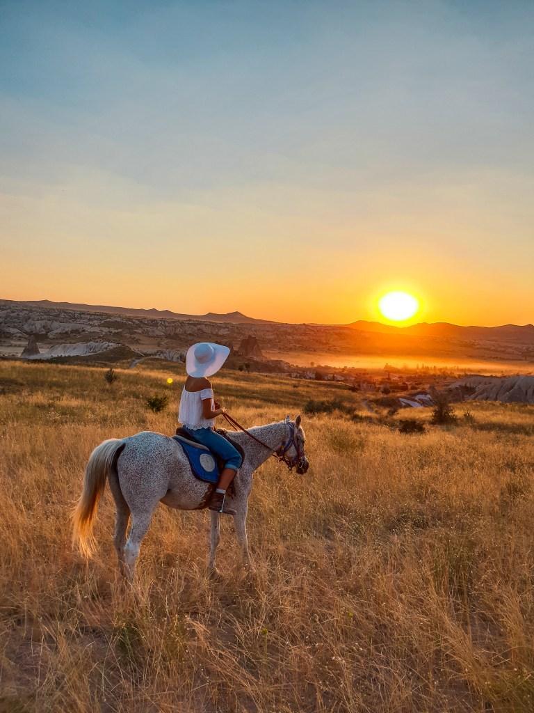 Sunset Horse Back Ride Cappadocia