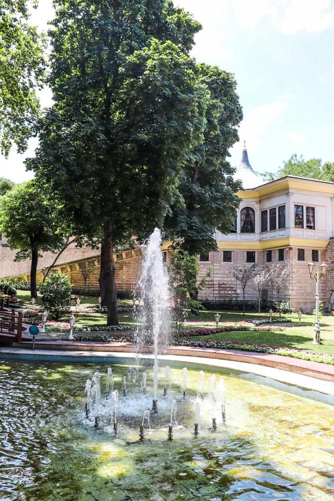 Topkapi Palace Gardens