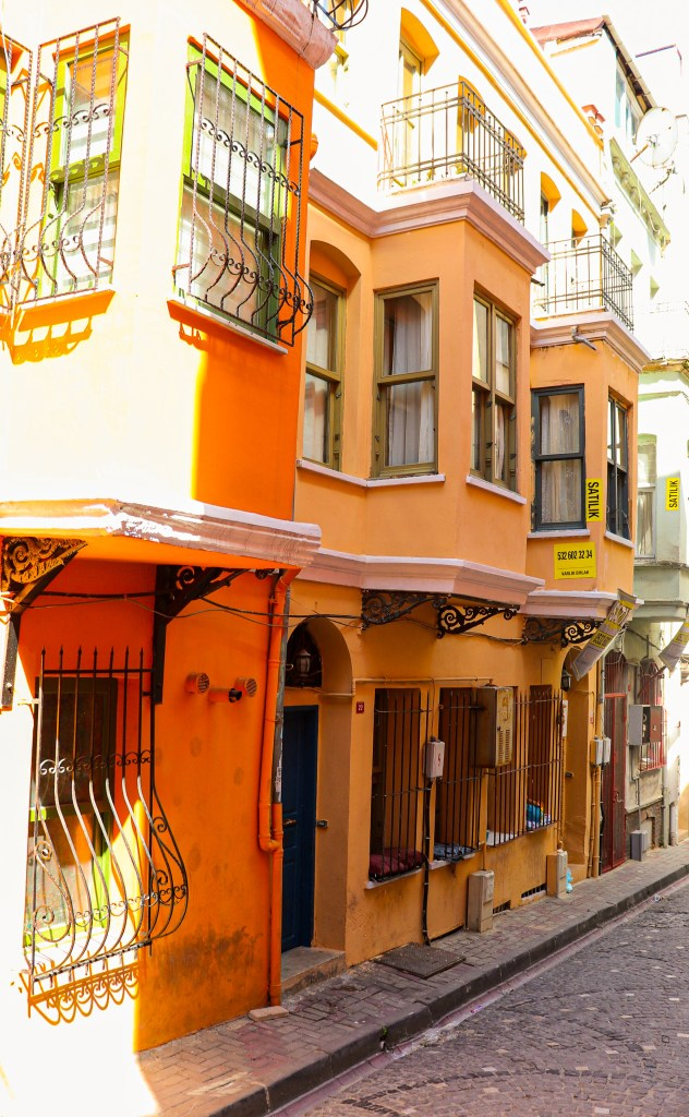 Balat Istanbul Colorful Houses
