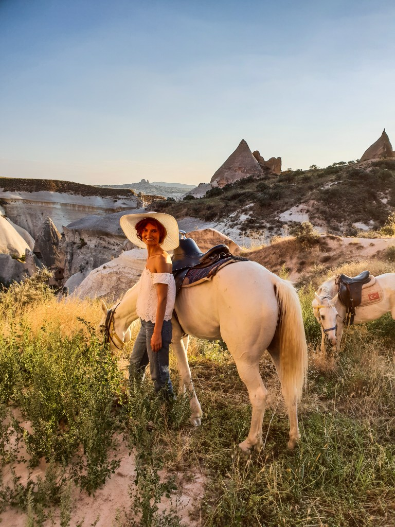 Sunset Horse Back Ride Cappadocia Turkey