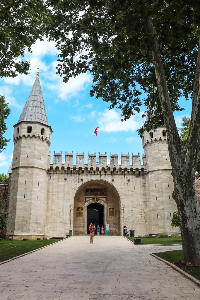 Topkapi Palace Istanbul Turkey Entrance