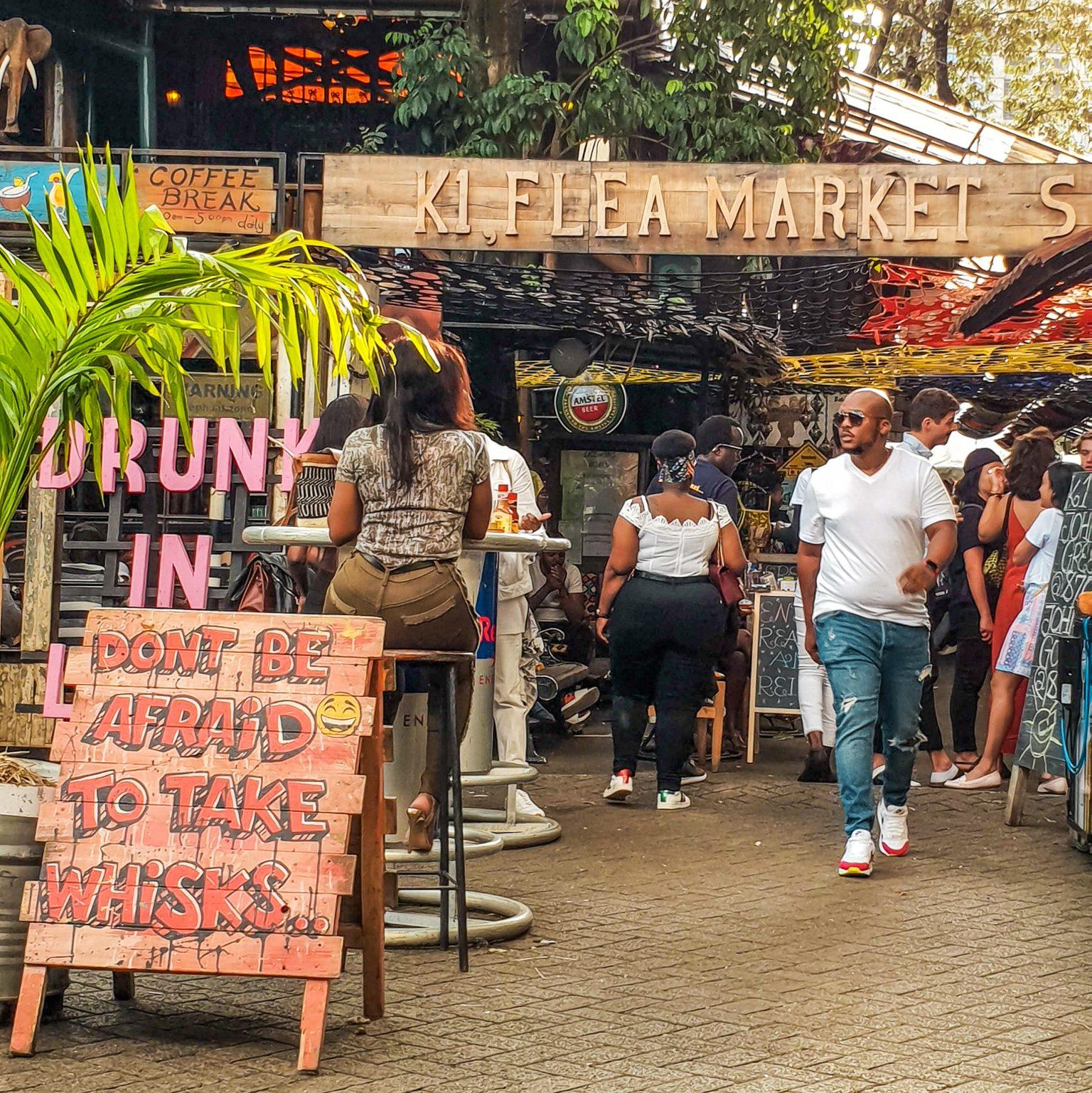 K1 Flea Market Nairobi Kenya