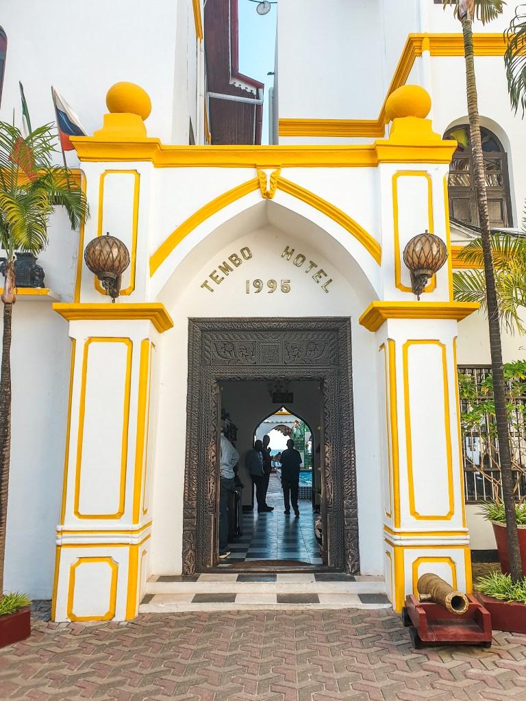 Tembo Hotel Stone Town Zanzibar Itinerary