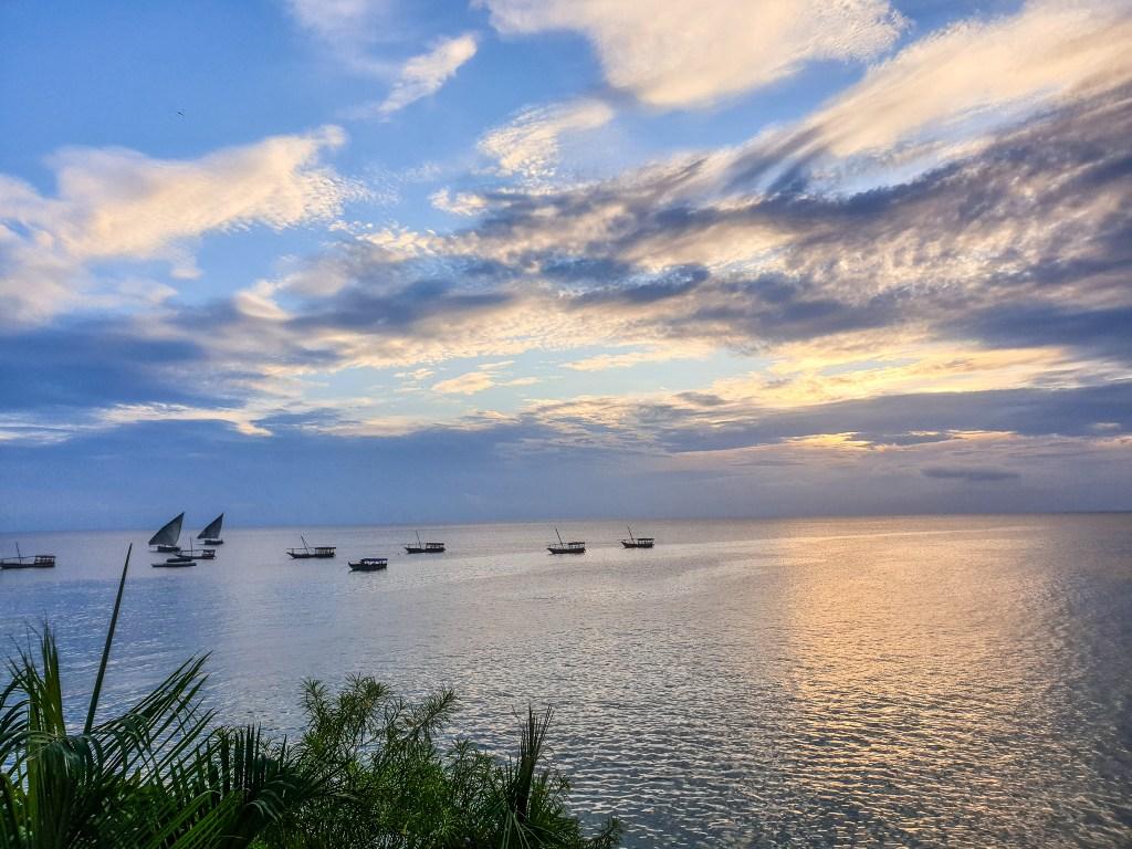Sunsets Stone Town Zanzibar