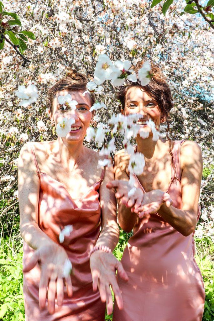 Wildflowers Israel Flower Fields Almond blossoms