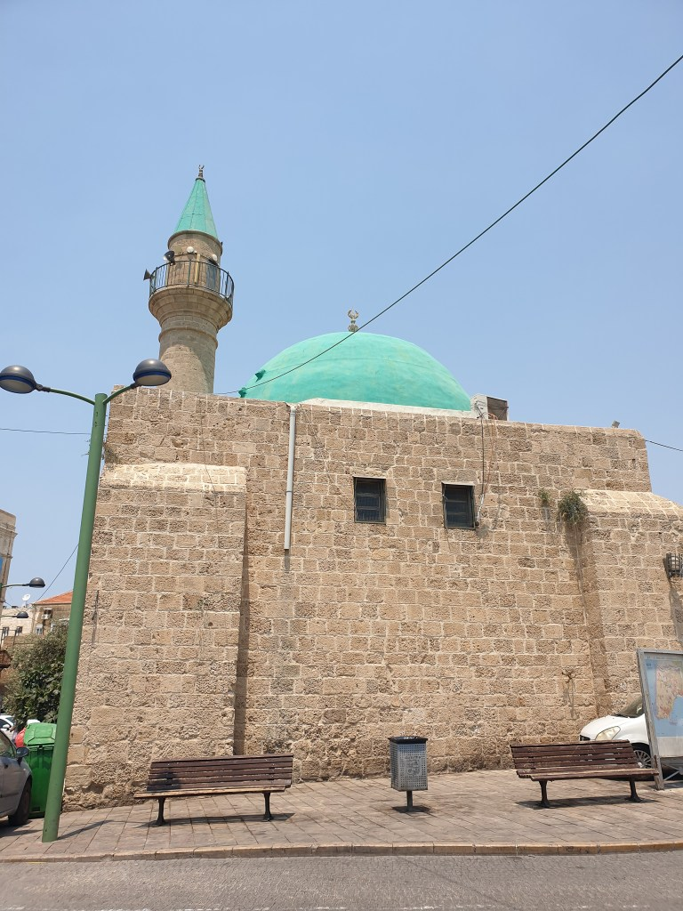 Akko Acre Israel Mosque