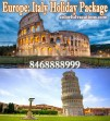 Europe Tour Italy Holiday Package