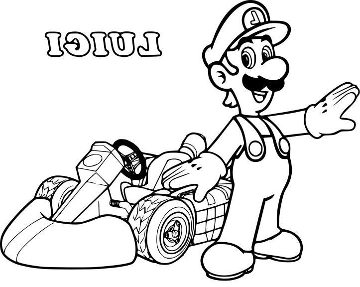 Coloriage Mario Kart 8 A Imprimer Gratuit - Coloriage Imprimer